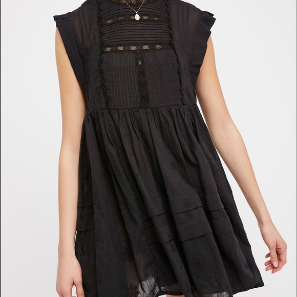 d0cf7b232ed1 Free People Dresses | Nobody Like U Embroidered Mini Dress | Poshmark